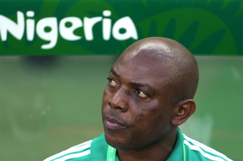 Stephen Keshi ahead of Nigeria's Confederations Cup clash with Spain in 2013