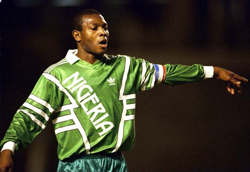 Football - Carlsberg Cup - Hong Kong - 28-31/1/98 Stephen Keshi  - Nigeria Coach Mandatory Credit:Action Images / John Sibley