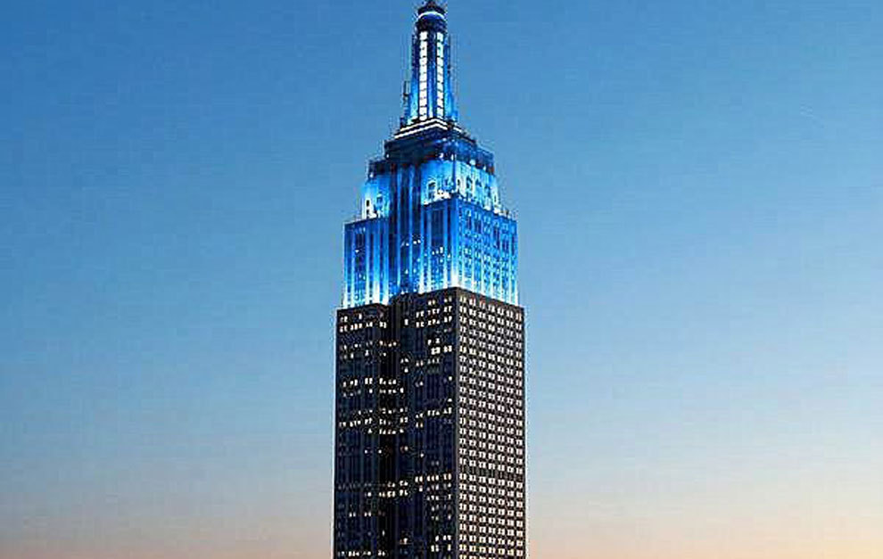 New York S Empire State Building To Light Up In Barcelona Colours