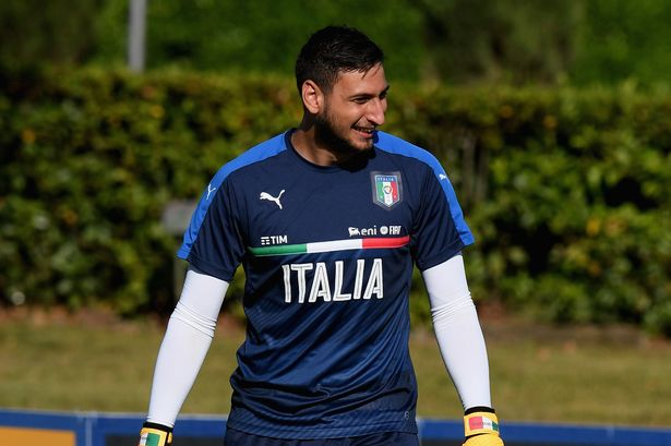Donnarumma Italy Isoccerng